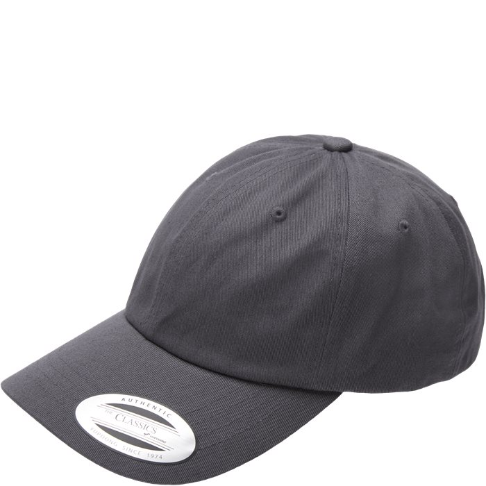 Low Profile Cotton Twill Cap - Kepsar - Grå